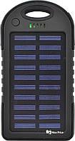 Внешний акумулятор Power bank UKC PB-263 10000 mAh с солнечной панелью и фонариком УЦЕНКА (111813)