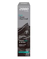 Зубная паста с частицами древесного угля 2080 Black Clean Charcoal Toothpaste, 120г