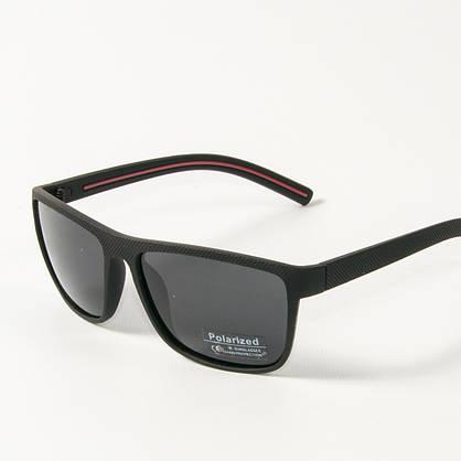 Оптом поляризационные  спортивные мужские солнцезащитные  очки  (арт. P76050/2) черно-красные, фото 3
