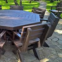 Стол, комплект, обеденный, садовый