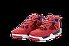 Баскетбольные кроссовки Nike Air Jordan 4 (Найк Аир Джорданы 4) красные, фото 4