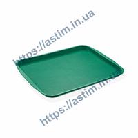 Поднос Fast Food ( 320*440 мм) зеленый