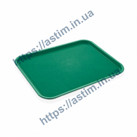 Поднос Fast Food (310*410 мм) зеленый