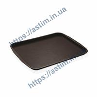 Поднос Fast Food ( 270*360 мм) коричневый