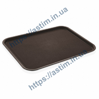 Поднос Fast Food (370*480 мм) коричневый
