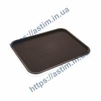 Поднос Fast Food (310*410 мм) коричневый