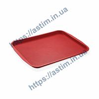 Поднос Fast Food ( 270*360 мм) красный