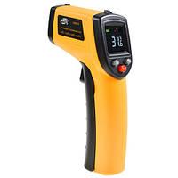 Безконтактний інфрачервоний термометр (пірометр) цв дисплей -50-530°C BENETECH GM533
