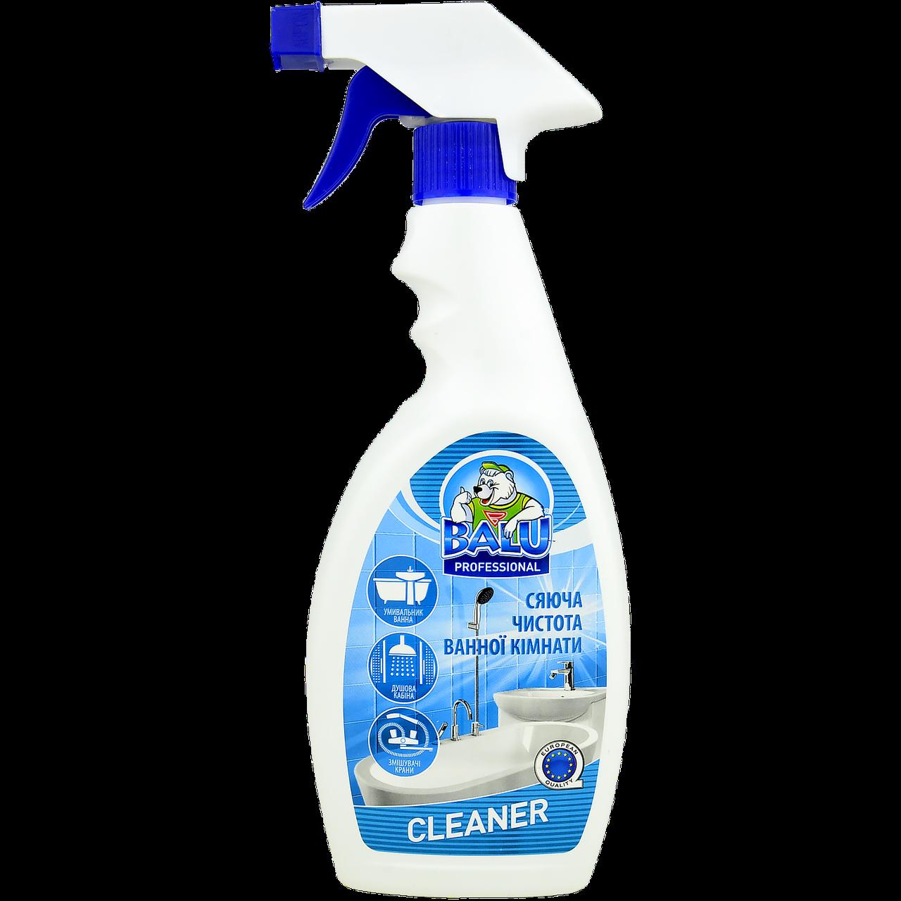 Средство для мытья сантехники и керамики BALU®CLEANER, 550мл, 12 шт/ящ