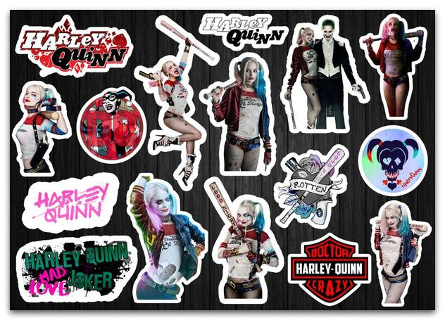 Стикерпак Harley Quinn, Харли Квинн #44