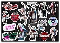 Стикерпак Harley Quinn, Харли Квинн #44, фото 1