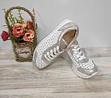 Туфли женские с перфорацией из натуральной кожи 38,40 р Foot Step., фото 3
