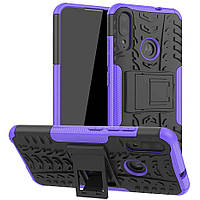 Чехол Armor Case для Motorola Moto E6 Plus Violet