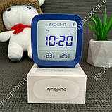 New! Умный Будильник Xiaomi Qingping Bluetooth Alarm Clock.Термометр\Гигрометр\Часы с подсветкой и будильником, фото 3