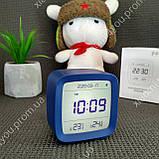 New! Умный Будильник Xiaomi Qingping Bluetooth Alarm Clock.Термометр\Гигрометр\Часы с подсветкой и будильником, фото 2