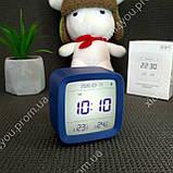 New! Умный Будильник Xiaomi Qingping Bluetooth Alarm Clock.Термометр\Гигрометр\Часы с подсветкой и будильником, фото 7