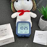New! Умный Будильник Xiaomi Qingping Bluetooth Alarm Clock.Термометр\Гигрометр\Часы с подсветкой и будильником, фото 6