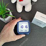 New! Умный Будильник Xiaomi Qingping Bluetooth Alarm Clock.Термометр\Гигрометр\Часы с подсветкой и будильником, фото 4