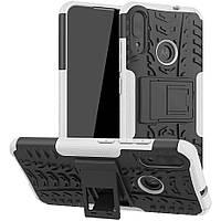 Чехол Armor Case для Motorola Moto E6 Plus White