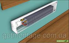 Конвектор КНЕ 125.800.250. Фанкойл настенный. Радиатор с медно-алюминиевым теплообменником. Разные цвета RAL.