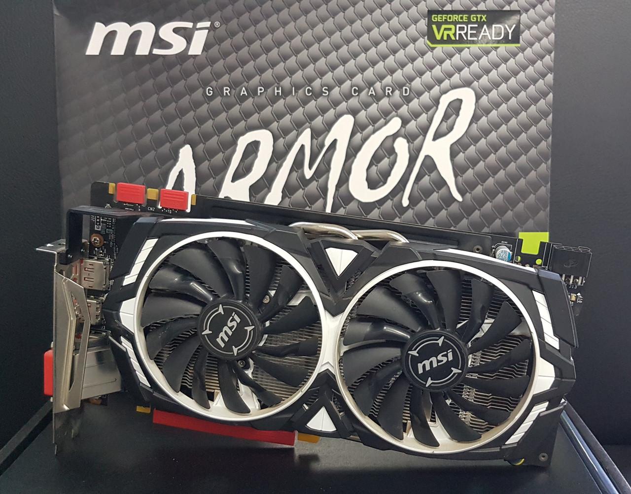 Видеокарта MSI ARMOR GeForce GTX 1070 8GB GDDR5 256-Bit