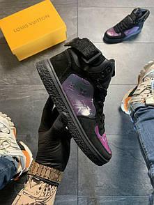 Louis Vuitton Boombox Black Violet