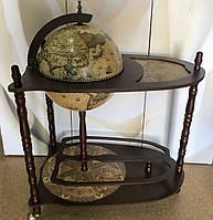 Глобус бар со столиком напольный, 33004NM01