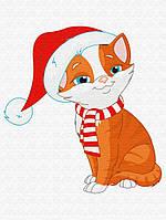 Детская картина по номерам BRUSHME KIDS 30*40 Праздничный котик