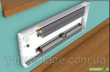 Фанкойл КНТ 70.800.400. Конвектор настенный. Радиатор с медно-алюминиевым теплообменником и вентилятором