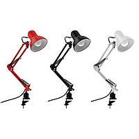 Настольная лампа E27 Rana Horoz Electric на струбцине