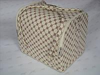 Бьюти-кейс. сумка для мастеров индустрии красоты . Коричневый .