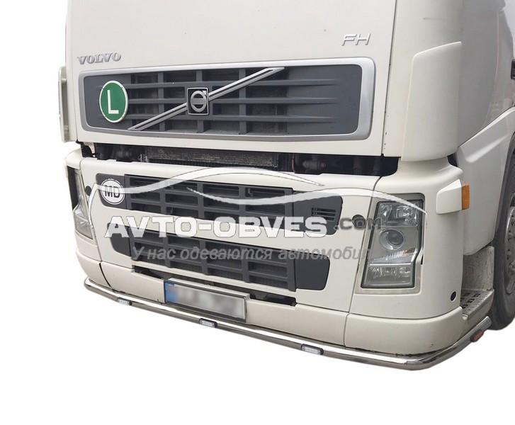 Захист переднього бампера Volvo FH12 -> Нова послуга - встановлення діодів