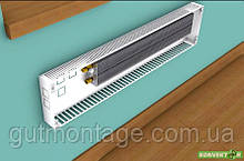 Фанкойл КНЕ 70.800.250. Конвектор настенный. Радиатор с медно-алюминиевым теплообменником. Разные цвета RAL.