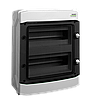 Модульний щиток, настінного монтажу Noark PHS 8T, IP65, 1 ряд, 8 модулі
