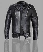 Косуха мото байкерская,куртка кожаная молодежная с натуральной кожи.Турция.