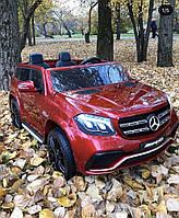 Детский электромобиль Mercedes GLS63 М 3565(MP4) EBLRS-3 Красный лак (бордо)