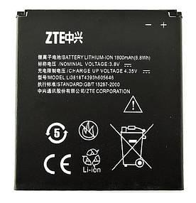 Аккумулятор АКБ ZTE Li3818T4393h605646 для ZTE N909   V818 (Li-ion 3.8V 1800mAh) Оригинал Китай