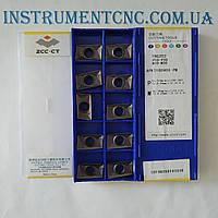 Пластины ZCC-CT APKT160408-PM YBG202 твердосплавные для фрез
