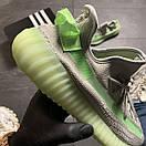 Кроссовки Adidas Yeezy Boost 350 v2 Grey Green, фото 4