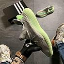 Кроссовки Adidas Yeezy Boost 350 v2 Grey Green, фото 2