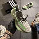 Кроссовки Adidas Yeezy Boost 350 v2 Grey Green, фото 6