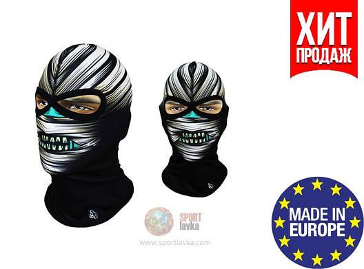 Балаклава с черепом Rough Radical Subscull (original), маска, подшлемник, фото 2