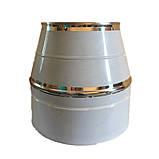 Комплект дымохода 7 метров нерж/нерж, 140/200 мм - Фабрика ZIG, фото 2