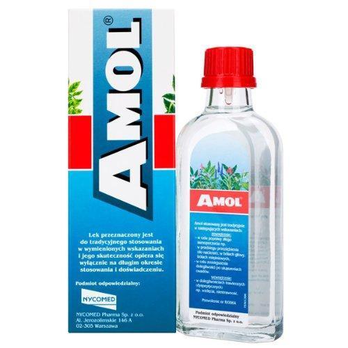Бальзам Amol / Амол антисептическое средство 100 ml