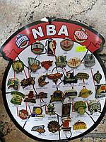 Набор значков NBA