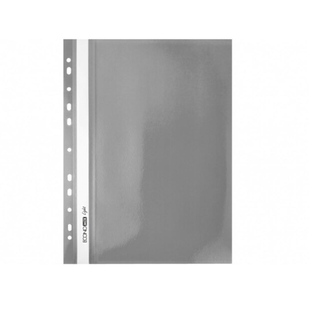 Папка-скоросшиватель А4 Economix Light Матовая E38504-10