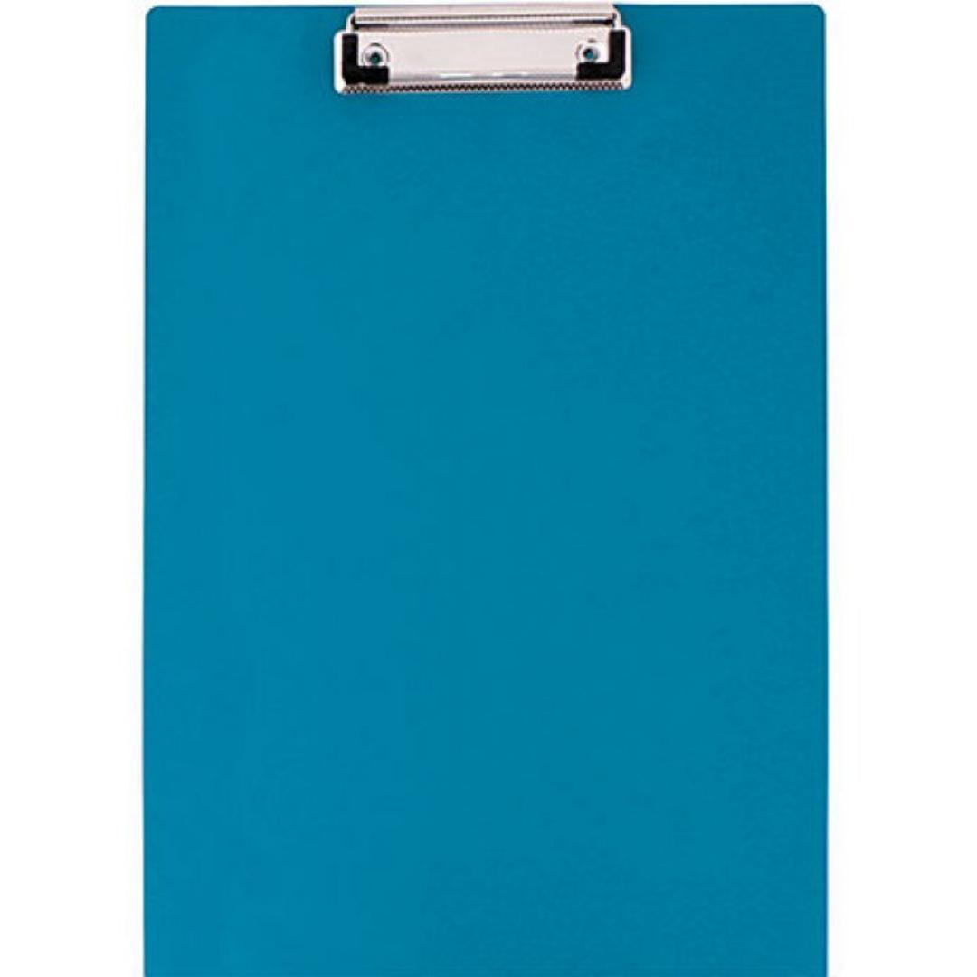 Планшет А4 Economix с прижимом, ПВХ, синий E30103-02