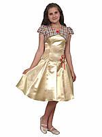 """Комплект для девочки М-771 платье с болеро 164 тм """"Попелюшка"""", фото 1"""