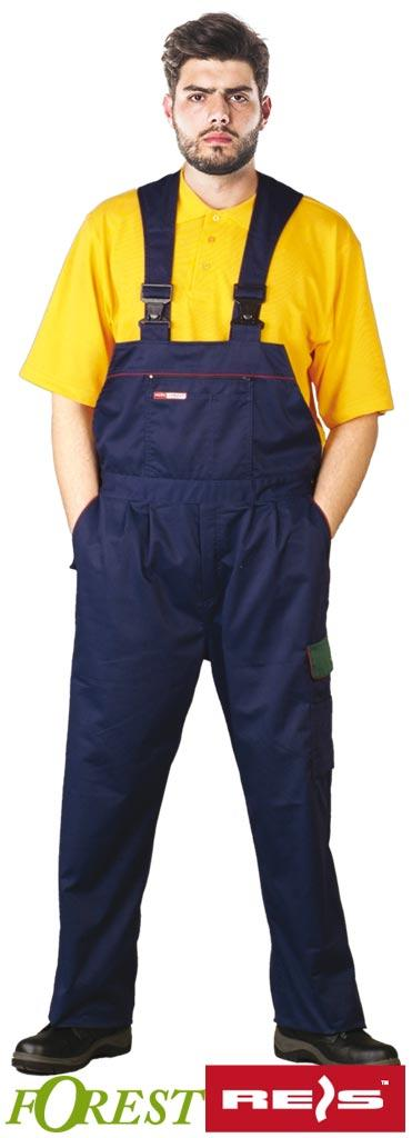 Защитные брюки на помочах типа ФОРЕСТ SF GZ