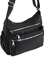 Женская сумка из ткани Traum черная